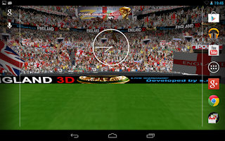 Screenshot of England 3D Live Wallpaper