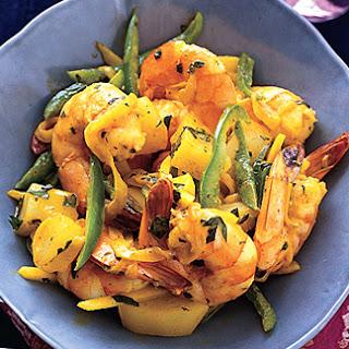 Curried Shrimp.