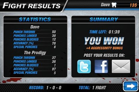 Hockey Fight Pro- screenshot thumbnail