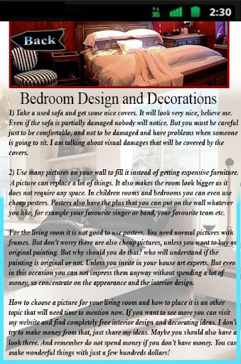 Bedroom Design and Decorations