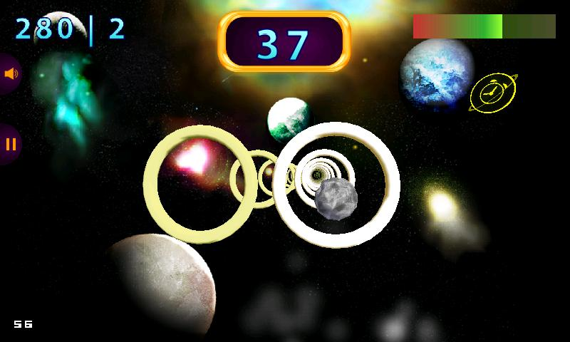 Space Rings 3D - screenshot