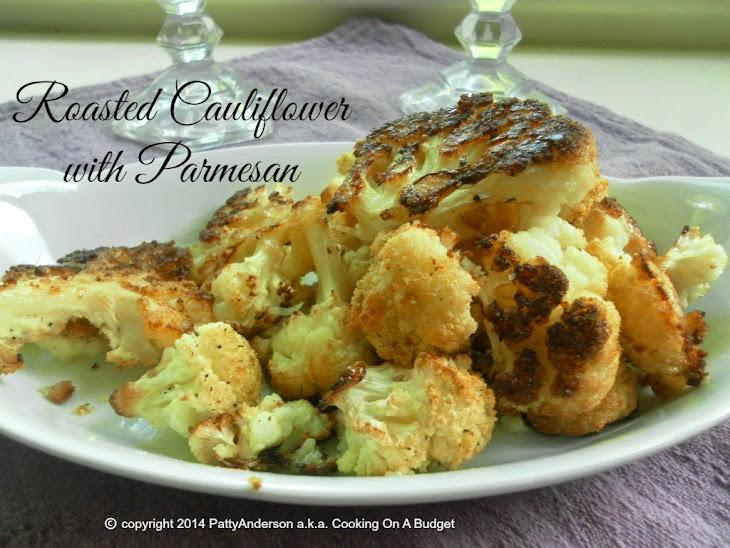 Roasted Cauliflower with Parmesan Recipe