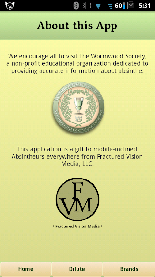 Absinthe Dilution Faerie - screenshot