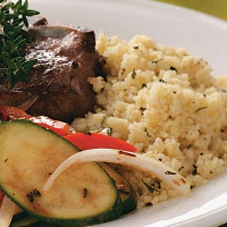Seasoned Couscous Recipe
