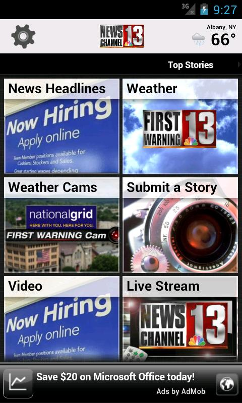 WNYT NewsChannel 13 - screenshot