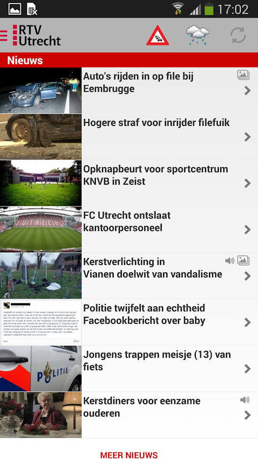 RTV Utrecht - screenshot