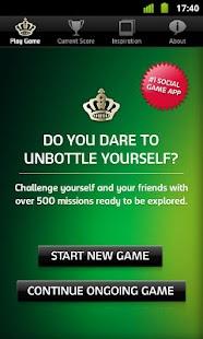 Carlsberg Unbottle Yourself - screenshot thumbnail