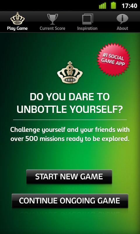 Carlsberg Unbottle Yourself - screenshot