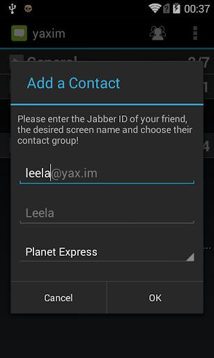 【免費通訊App】yaxim - XMPP/Jabber client-APP點子