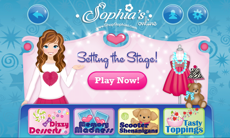 Sophia's Dolls & Games Online- screenshot