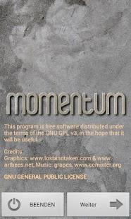 Momentum- screenshot thumbnail