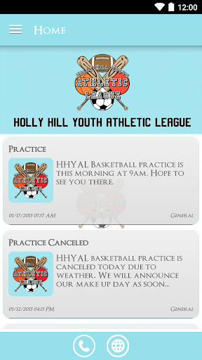 Holly Hill Youth Ath League
