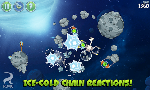 Angry Birds Space Premium Screenshot 22