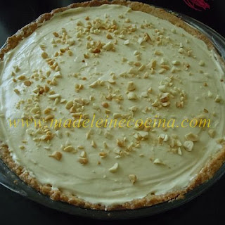 Banana Pie with Peanut Whipped Cream.