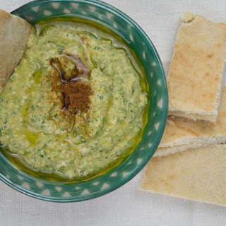 Flageolet Bean & Kale Hummus