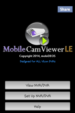 MobileCamViewer for VICON DVRs