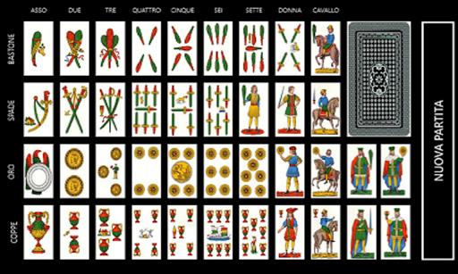 Solitario 40 Carte