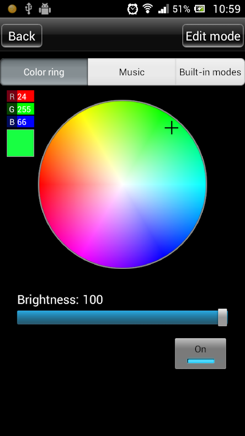 led magic color controller v2 android apps on play