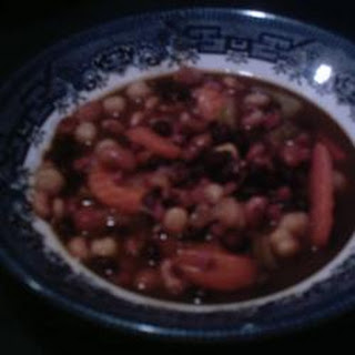 Slow Cooker Ham and Bean Stew.