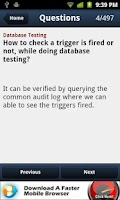 Screenshot of Testing Interview Questions