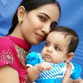 Mother Love.... by Raj Verma - Digital Art People