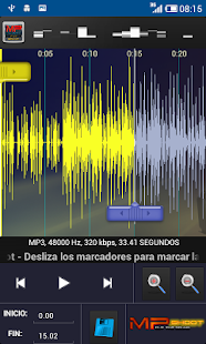 CortaCanciones MPShootCutSound - screenshot thumbnail