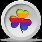 White&Pastel go launcher theme icon