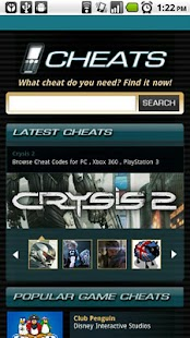Game Cheats - screenshot thumbnail