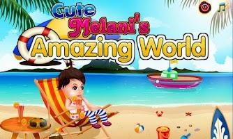 Screenshot of Baby Girl Melani Amazing World