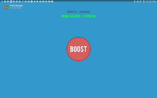 Screenshot of RAM Booster