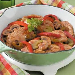 Pork and Veggie Saute Recipe
