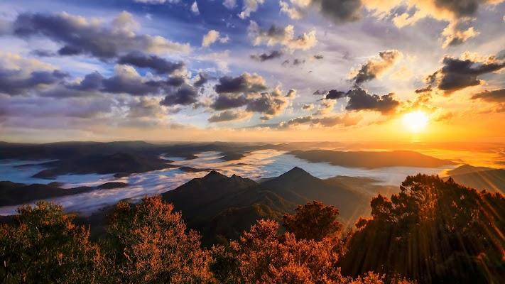 Sunset Wallpaper - screenshot