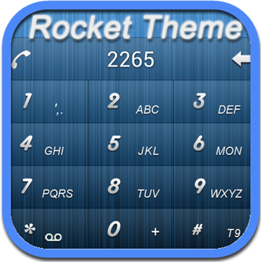 RocketDial BT Theme LOGO-APP點子