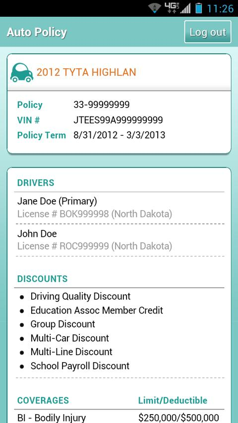 Horace Mann Mobile- screenshot