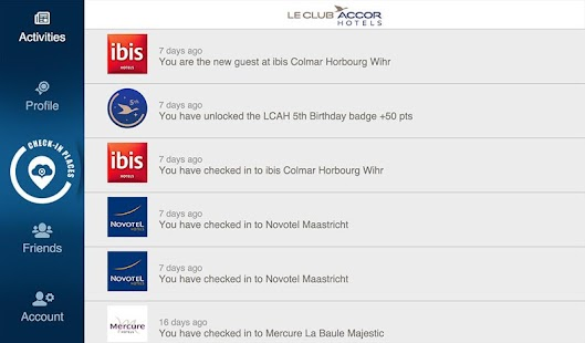 Places by Le Club Accorhotels- screenshot thumbnail