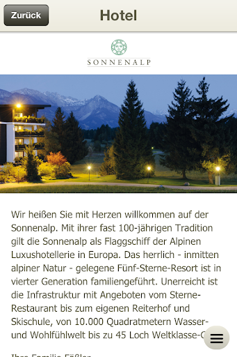 【免費旅遊App】Sonnenalp Hotel & Resort-APP點子