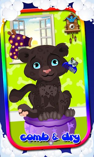 Pets Nail art dress up Salon screenshot for Android