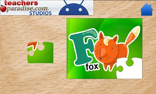 Kids ABCs Jigsaw Puzzles - screenshot thumbnail