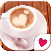 Cute wallpaper★Latte Art