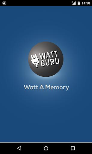 Wattguru Memory Game