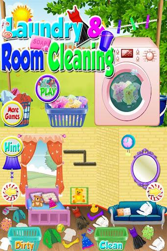 Wash Laundry Games for kids  screenshots 1