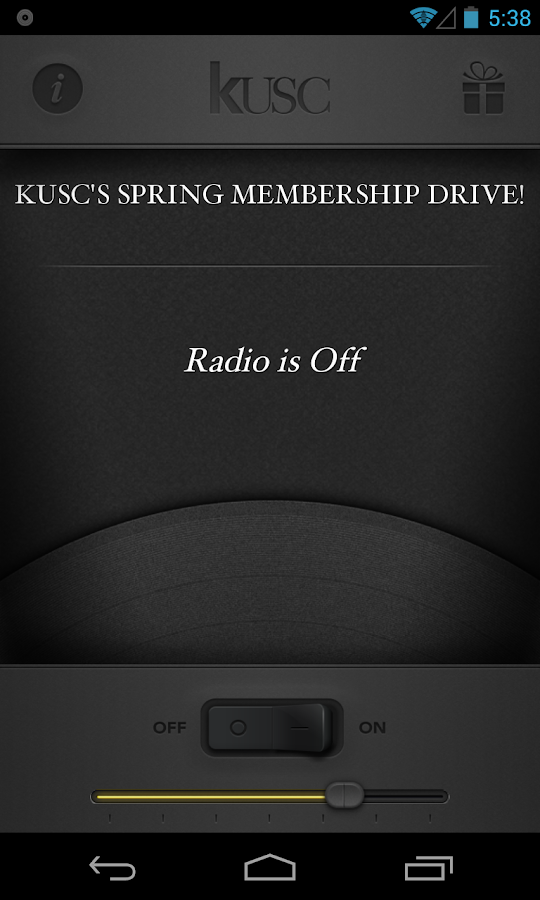 Classical KUSC- screenshot
