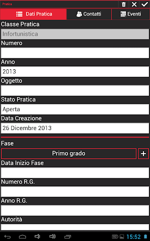 Screenshots for Falco Gestione Legale