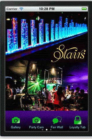 Stairs Sunbury Nightclub
