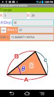 Screenshot of Area Calculator byNSDev