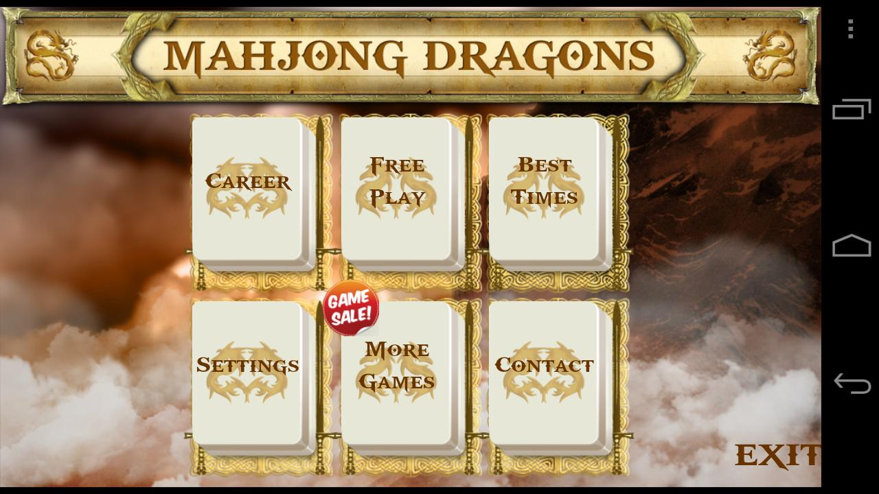 Mahjong Dragons Unlocked - screenshot