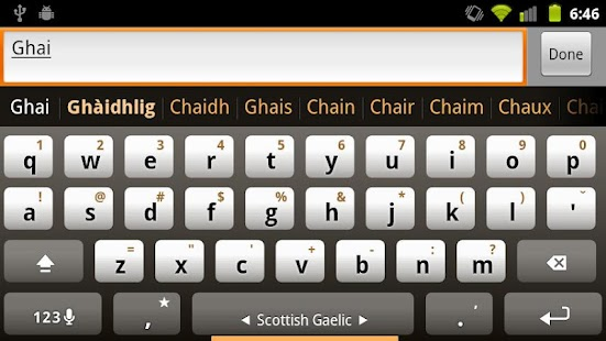 Plugin Scottish Gaelic - screenshot thumbnail