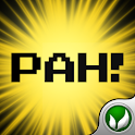 Pah! – Voice Activated logo