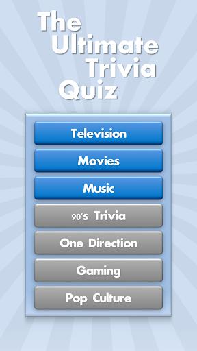 The Ultimate Trivia Quiz