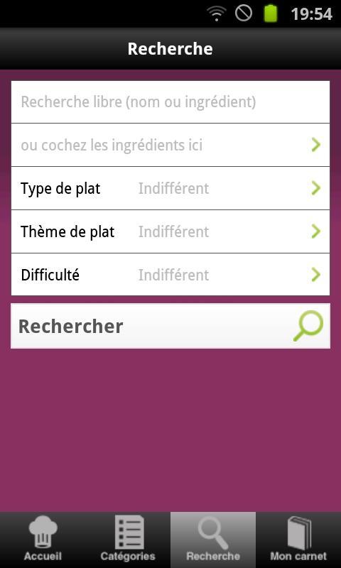 Cuisine : 25 000 recettes - screenshot